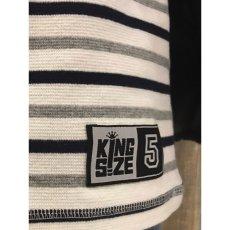 """画像9: KINGSIZE(キングサイズ)""""BORDER L/S TEE"""" (9)"""