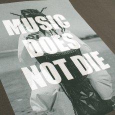 """画像8: BUDS(バッズ)""""MUSIC DOES NOT DIE TEE"""" (8)"""