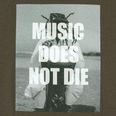 """画像7: BUDS(バッズ)""""MUSIC DOES NOT DIE TEE"""" (7)"""