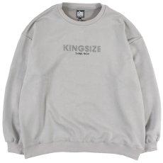 """画像2: KINGSIZE(キングサイズ) """"ARCH CREW SWEAT"""" (2)"""