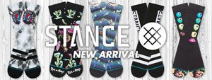 STANCE -NEW ARRIVAL-