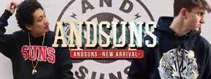 ANDSUNS -NEW ARRIVAL-