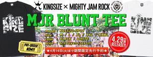 KINGSIZE x MIGHTY JAM ROCK コラボレーション!!