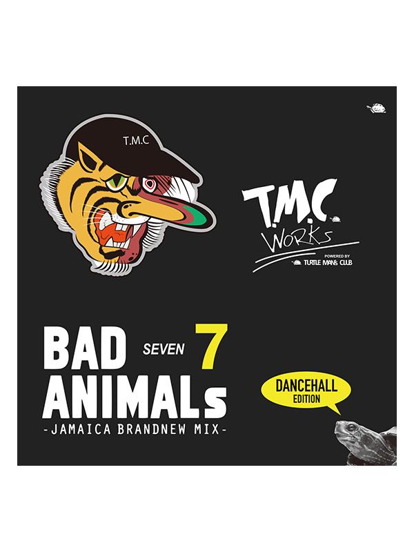 cd bad animals animals 7 jamaica brand new mix turtle man s