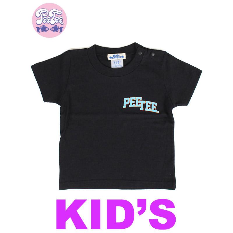 """画像1: 【ラスト110のみ】[子供服] PeeTee. (ピーティー) """"PLAIN BLOCK KIDS TEE"""" (1)"""