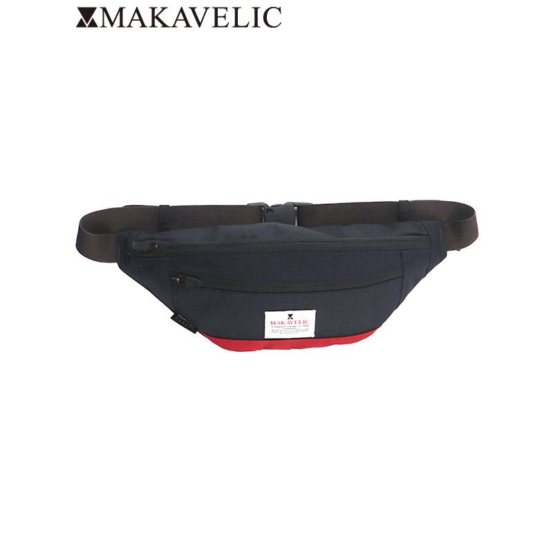 """画像1: MAKAVELIC (マキャベリック) """"TRUCKS MONOCULAR WAIST BAG"""" (1)"""