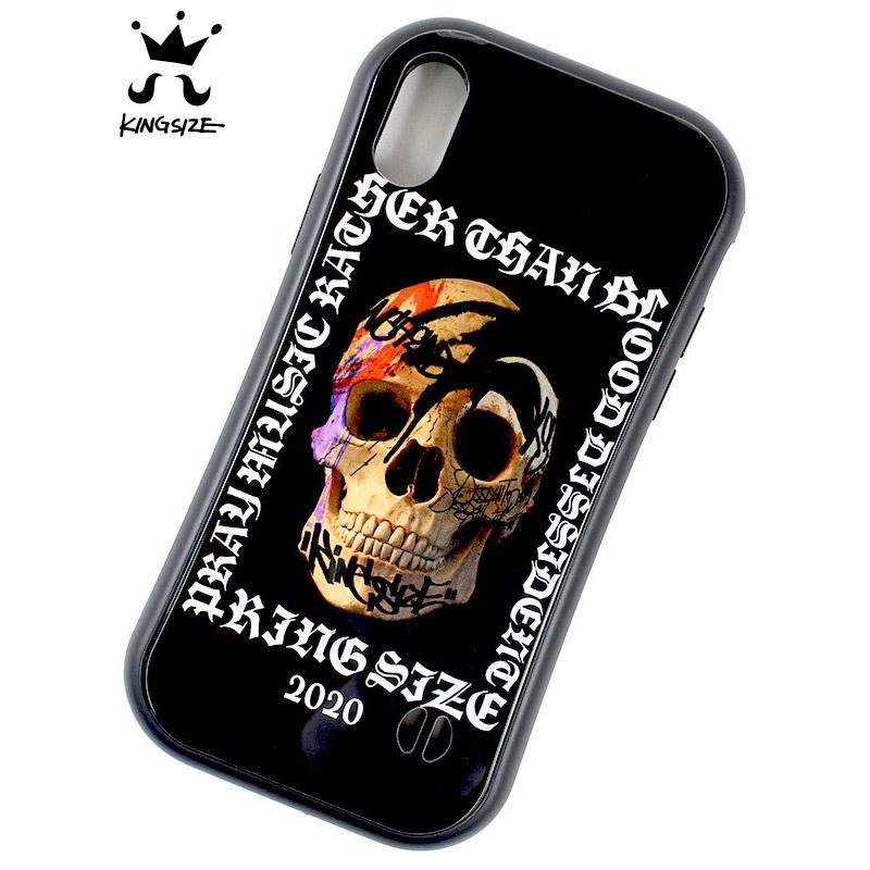 """画像1: KINGSIZE(キングサイズ) """"SKULL iPhone CASE"""" (1)"""