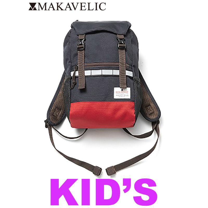 """画像1: [子供服] MAKAVELIC (マキャベリック) """"DOUBLE BELT KIDS MIX DAYPACK"""" (1)"""