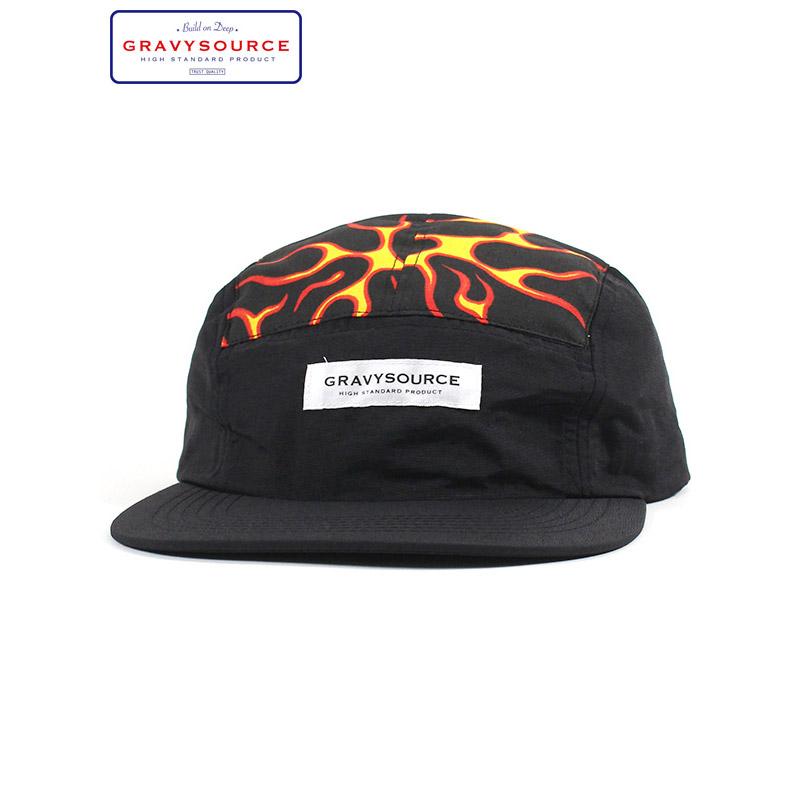 """画像1: GRAVYSOURCE (グレイビーソース) """"FIRE CAMP CAP"""" (1)"""