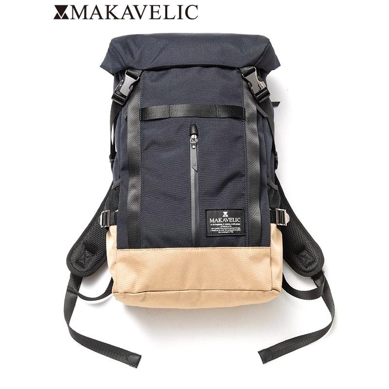 """画像1: MAKAVELIC (マキャベリック) """"CHASE DOUBLE LINE 2 BACKPACK(ダブルライン 2 バックパック)"""" (1)"""