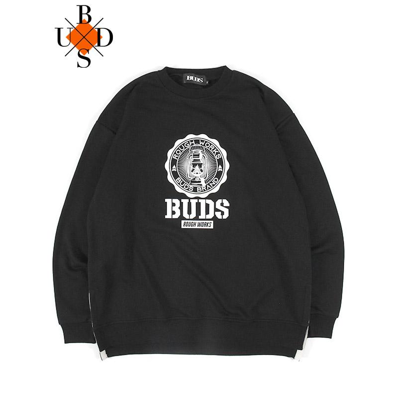 """画像1: BUDS(バッズ)""""ROUGH WORKS LOGO SWEAT"""" (1)"""