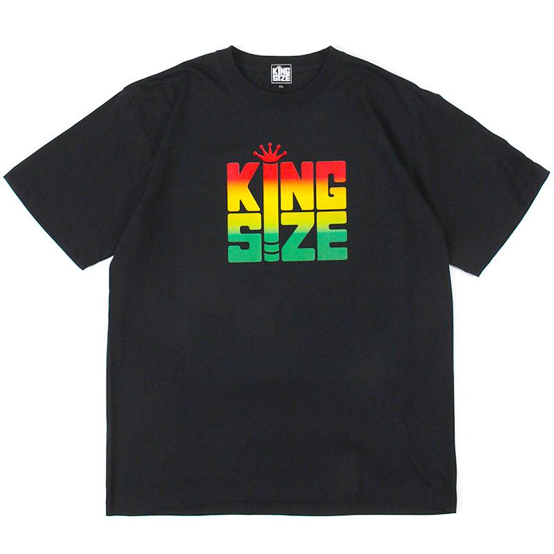 """画像1: 【2021.07.29再入荷】KINGSIZE(キングサイズ) """"BLUNT RASTA TEE"""" (1)"""