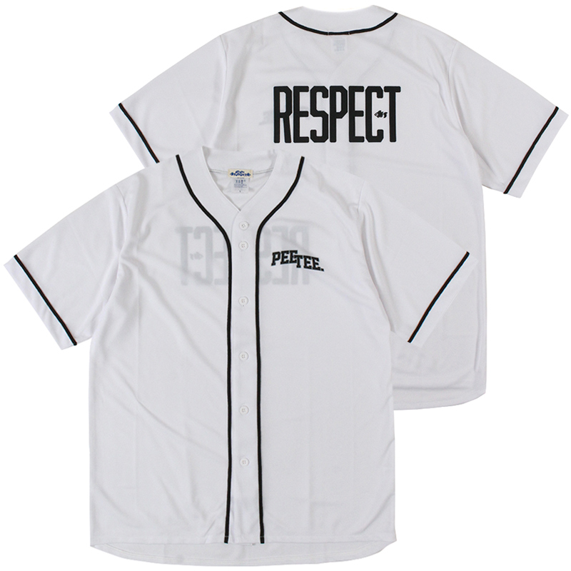"""画像1: 【2021.07.29再入荷】PeeTee. (ピーティー) """"RESPECT BASEBALL SHIRT"""" (1)"""