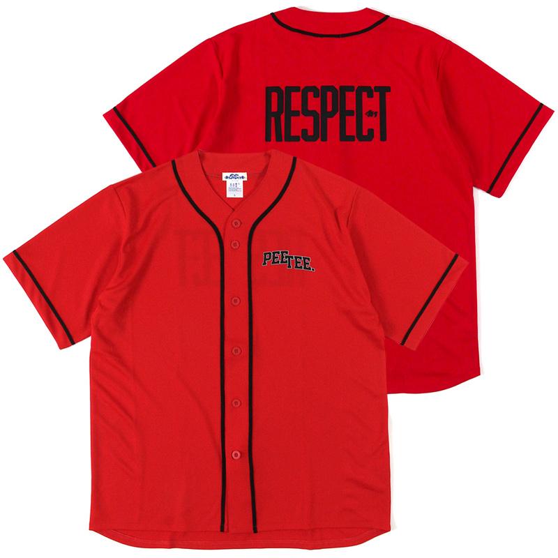 """画像1: PeeTee. (ピーティー) """"RESPECT BASEBALL SHIRT"""" (1)"""
