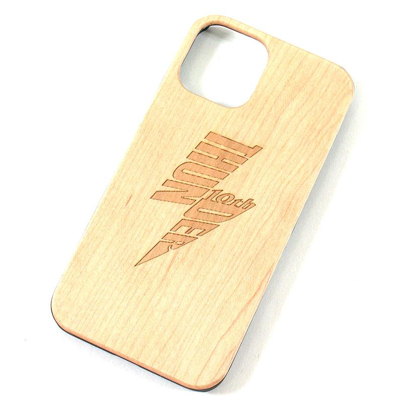 """画像1: THUNDER """"WOOD iPhone CASE"""" (1)"""