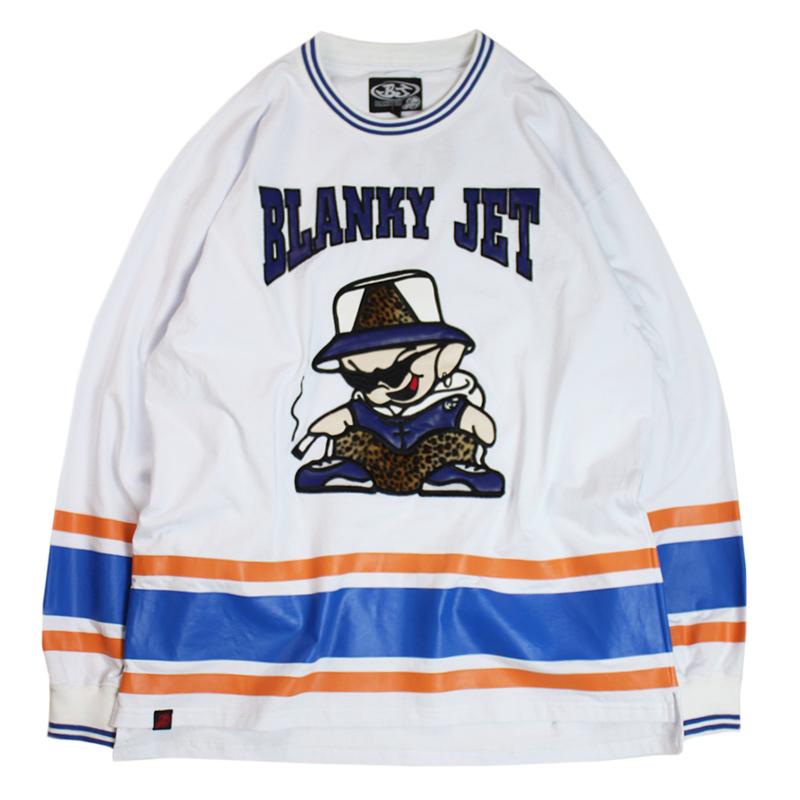 """画像1: BLANKY JET (ブランキージェット) """"ホッケーロンTee"""" (1)"""
