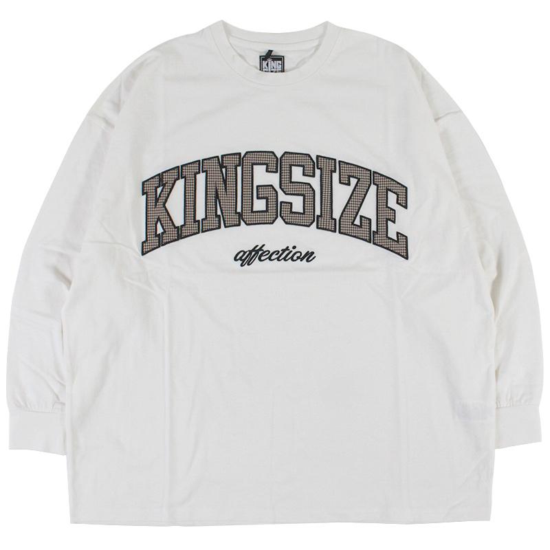 """画像1: KINGSIZE(キングサイズ)""""KS CHECK L/S TEE"""" (1)"""