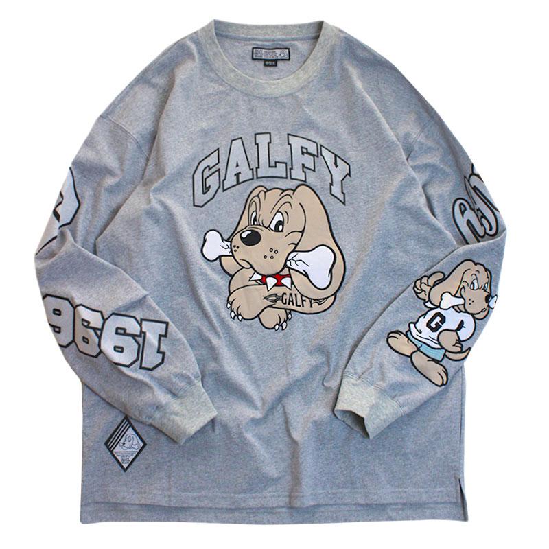"""画像1: GALFY(ガルフィー) """"わんわん大学ロンTee"""" (1)"""