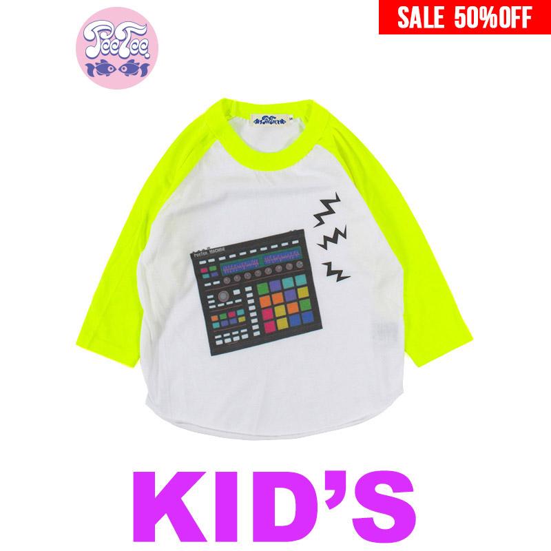 """画像1: 【50%OFF】[子供服] PeeTee. (ピーティー) """"MPC KIDS NEON RAGLAN"""" (1)"""