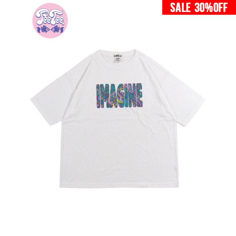 """画像1: 【30%OFF】PeeTee. (ピーティー) """"IMAGINE WIDE TEE"""" (1)"""